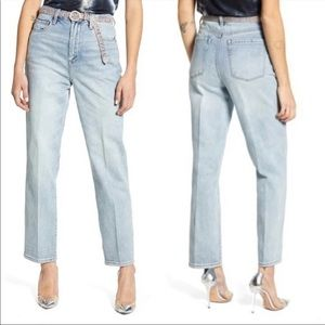 BLANK NYC The Howard Loose Fit Straight Leg Jeans